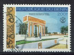 Bénin (Dahomey), 200f, Monument De La Route De L'esclave Porte De Non Retour, 2003 Obl, TB - Benin - Dahomey (1960-...)
