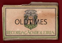 PORTUGAL - LEIRIA - RECORDAÇÃO DE LEIRIA - 15 ASPECTOS DA CIDADE DE LEIRIA - ANOS 30 - Dépliants Touristiques
