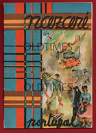 PORTUGAL - NAZARÉ - BROCHURA TURISTICA - MAPA - INFORMAÇÕES - IMAGENS - 1936 TURISM BROCHURE - Dépliants Touristiques
