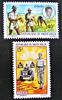 DAKIRI 1971 - NEUFS ** - YT 256/57 - MI 350/51 - Upper Volta (1958-1984)