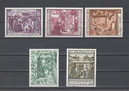MONACO.  YT  N° 934/938   Neuf **  1973 (voir Détail) - Unused Stamps