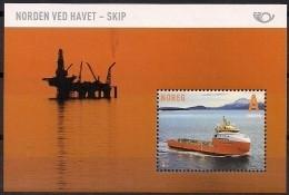 2014 Norwegen Norge  Mi.Bl. 45**MNH   NORDEN - Leben Am Meer - Europäischer Gedanke