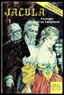 """""""JACULA X2 1: Koningin Van De Vampieren En Terreur Op Het College""""- Strip Voor Volwassenen - Uitgeverij """"De Vrijbuiter"""" - Zonder Classificatie"""