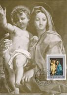 Carte Maximum Painting Peinture Vatican Vaticano 1971 C. Maratta - Maximum Cards