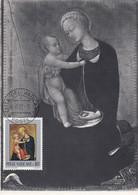 Carte Maximum Painting Peinture Vatican Vaticano 1973 Sassetta - Maximum Cards