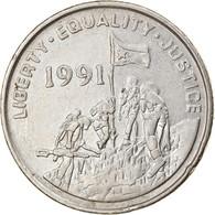 Monnaie, Eritrea, 25 Cents, 1997, TTB, Nickel Clad Steel, KM:46 - Eritrea