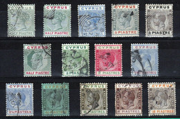 CHYPRE - PETIT LOT DE TIMBRES OBLITERES - Chipre (...-1960)