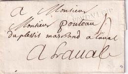 FRANCE   LETTRE SANS CORRESPONDANCE SANS DATE - 1701-1800: Precursors XVIII