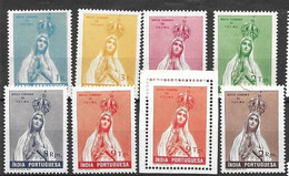 Portuguese India Mnh ** Incomplete Set (5R Missing) Plus Stamp From Sheet  85 Euros - Portuguese India