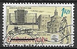 TCHECOSLOVAQUIE   -  1988.   Y&T N° 2763 Oblitéré.  Expo Philatélique De Prague - Usados