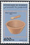 DJIBOUTI 1997 - Yvert N° 719 TB  (Michel N° 639) Objet Traditionnel (bol) - Neuf** - 1er Choix (Lot 23) - Yibuti (1977-...)