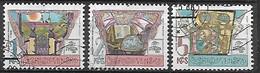 TCHECOSLOVAQUIE   -  1988.   Y&T N° 2767 à 2769 Oblitérés. - Usados