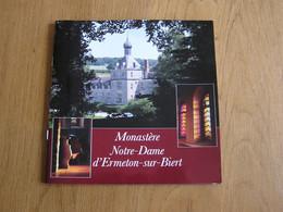 MONASTERE NOTRE DAME D'ERMETON SUR BIERT Brochure Régionalisme Soeurs Religieuses Province Namur - Bélgica