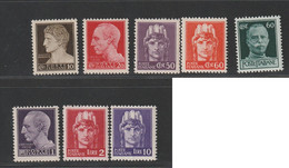 Italien Michel Nummer 670-681y Postfrisch - Ungebraucht