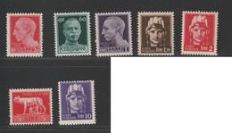 Italien Michel Nummer 671-681z Postfrisch - Ungebraucht