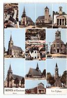 Boves Et Environs. Eglises.  Dury Rumigny  Grattepanche Blangy Tronville Guyencourt Sains Estrees Saleux ..... - Boves
