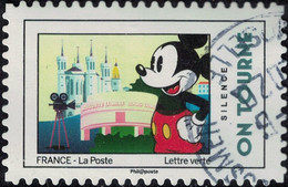 France 2018 Oblitéré Rond Used Mickey Et La France Silence On Tourne Y&T 1591 SU - 2010-.. Matasellados