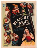 """""""Blanche Neige Et Les Sept Nains"""" - Walt Disney  (affiche Cinéma En Format Carte Postale) - Unclassified"""