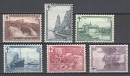 Belgien , Nr. 270-75 Mit Falz - Unused Stamps