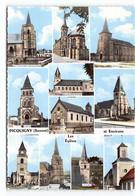 Picquigny - Multivues- Eglises Environs . Breilly Crouy L'Etoile Condé Bourdon Belloy  Chaussée Tirancourt... - Picquigny