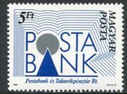 HUNGARY 1989 Postal Savings Bank  MNH / **.  Michel 4007 - Nuevos