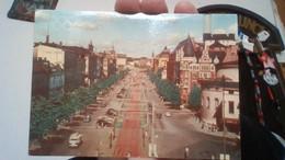 HELSINKI,MANNERHEIM STREET ,PANORAMA  1952.-C9925 - Finlande