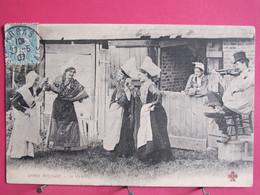 62 - Danse Rustique - Le Vis à Vis - Départ Arras Arrivée Hesdin - 1907 - Bon état - R/verso - Arras