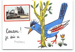 24-Prahecq. CPM Fantaisie  Coucou, Je Suis à... - Other Municipalities