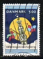 DANEMARK. N°1120 Oblitéré De 1996. Copenhague Capitale,européenne De La Culture. - Europäischer Gedanke
