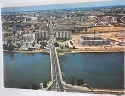 44 Nantes  Pont De Pirmil La Loire Immeubles En Construction Place Mangin Centre Ville - Nantes