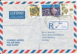 Malaysia Wilayah Persekutuan Registered Air Mail Cover Sent To Germany Sentul 18-3-1998 - Malaysia (1964-...)