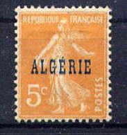 ALGERIE -  7* - TYPE SEMEUSE - Nuovi