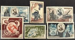 Monaco 1955, Poste, N° 427 à 429 Et 432 à 434, Neufs Sans Traces De Charnières, Voir Description - Ungebraucht