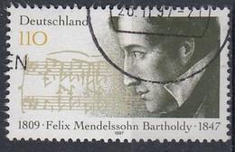 GERMANY Bundes 1953,used - Music