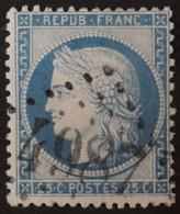 60A Obl BUREAU SUPPLEMENTAIRE GC 4987 Harbonnières (76 Somme ) Ind 7 - 1849-1876: Klassik