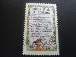 Tricentenaire De La Mort De Jean De La Fontaine - Fables - Oblitéré - Année 1995 - - Oblitérés