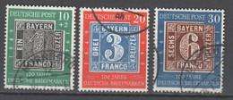Bundesrepublik , Nr 113-15 Gestempelt - Used Stamps
