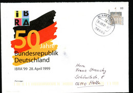 IBRA NÜRNBERG Bund PU291 D1/003 Gelaufen Blankenburg 2001 NGK 5,00 € - Philatelic Exhibitions