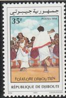 DJIBOUTI 1994 - N° 607 (catalogue Michel) Folklore Djiboutien - Neuf** - 1er Choix (Lot 8) - Yibuti (1977-...)