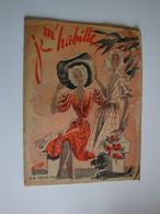 """Revue De Mode """"Je M'habille""""1945,robes De Plage,camping,habillées - Moda"""