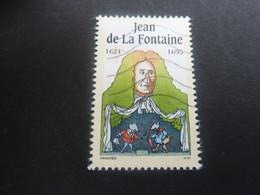 Jean De La Fontaine (1621-1695) Personnage - Oblitéré - Année 1995 - - Oblitérés
