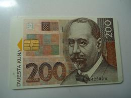CROATIA USED CARDS   BANKNOTES COINS - Francobolli & Monete