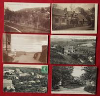 11 Cartes   -  Vaucottes Sur Mer - Seine Maritime -(76) - Other Municipalities