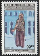 DJIBOUTI 1995 - Yvert N° ???  (Michel N° 619) Costume De Djibouti - Neuf** - 1er Choix (Lot 13) - Dschibuti (1977-...)