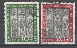 Bundesrepublik , Nr 139 - 40 Gestempelt - Used Stamps