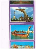 CARNET 12 CARTES Barges Fleuve CHAO PHRAYA - Thaïlande
