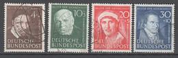 Bundesrepublik , Nr 143-46 Gestempelt - Used Stamps