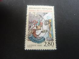 Jean De La Fontaine (1621-1695) La Cigale Et La Fourmi - 2f.80 - Multicolore Sur Crème - Oblitéré - Année 1995 - - Oblitérés