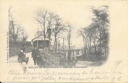 FRANCE - 78 - BELLEVUE (SEINE ET OISE) - GARE DU FUNICULAIRE - ED. POUYDEBAT - 1902 - Other Municipalities