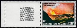 Comoro Islands 1973 - Airmail Stamp: Karthala Volcanic Eruption - Mi 159 ** MNH - Comores (1975-...)